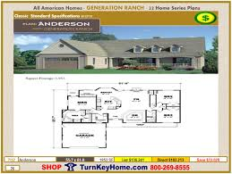 anderson modular home ranch plan direct priced from all american