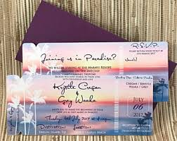 Boarding Pass Save The Date Bali Save The Date Etsy