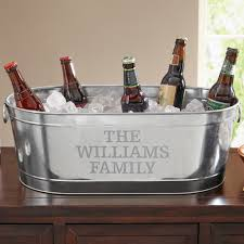 personalized galvanized beverage tub family name walmart com