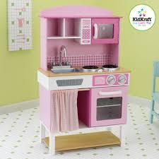 cuisine vertbaudet bois cuisine pour enfant en bois 61x34x98cm cuisine vaisselle