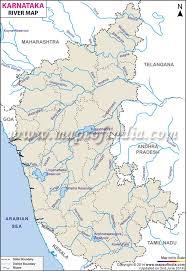 world rivers map shapefile karnataka river map karnataka rivers