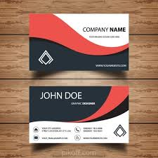 Business Card Backgrounds Free Download Ai Simple Wavy Business Card Vector Free Download Pikoff