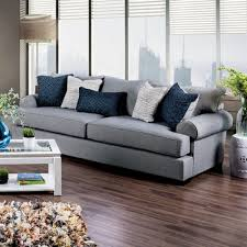 gilda transitional sofa gray