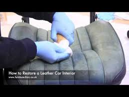Car Interior Renovation How To Restore A Leather Car Interior Youtube