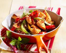 cuisine poulet basquaise recette de poulet basquaise recettes diététiques