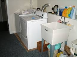 how to install a laundry sink installing a laundry sink befon for