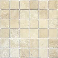 tumbled tuscany travertine tile chip size 2 x2