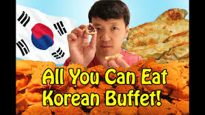 Eat All You Can Buffet by Traditional Korean All You Can Eat Buffet In Seoul South Korea