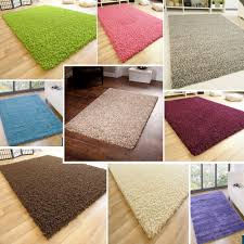 Thick Pile Rug Small Large Size Thick Plain Soft Shaggy Rug Non Shed Pile Modern