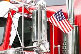American Flag On Truck Know The No Zones How To Spot And Avoid Big Truck Blind Spots