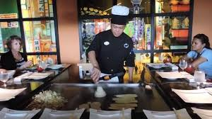 lunch teppanyaki style at kimonos restaurant sandals lasource