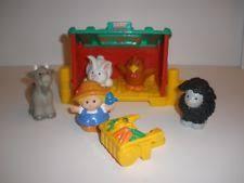 Wishing Well Barn Pricing Fisher Little People Baby Farm Animals B8796 2003 Ebay