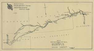Namekagon River Map Map Of Santa Fe Santa Fe Trail Oklahoma Maps Photos Reviews