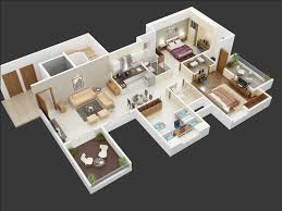 25 more 3 bedroom 3d floor plans architecture u0026 design