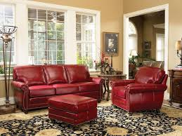 red leather sofa living room ideas love this red leather sofa and chair by smith brothers special