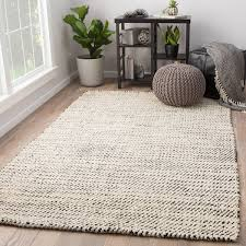 Solid Black Area Rugs Alcott White Black Jute Woven Area Rug 5 X 8