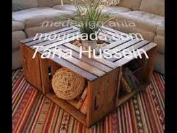wine crate coffee table how to make a coffee table from wine crates youtube
