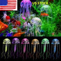 5pcs artificial glowing effect fish tank decoration aquarium