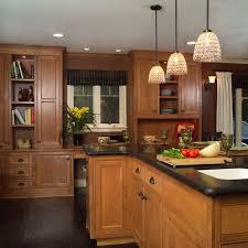 Dark Kitchen Cabinets With Light Countertops - dark floor light cabinet houzz