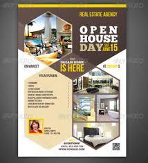 20 open house flyers templates u2013 design blog