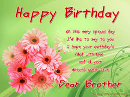 birthday wishes for brother easyday
