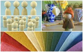 Dollhouse Plans Unfinished Kits U2013 by A Child U0027s Dream Giveaway Organic Plant Dyed Wool Felt Kit Wee