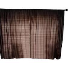 Silk Dupioni Curtains Pottery Barn Brown Silk Dupioni Curtain Aptdeco