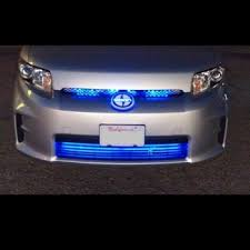 led grill lights car truck glowing kits inside front grille