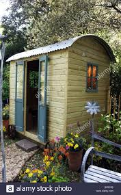 shepherds hut garden shed christopher lisney garden ornaments