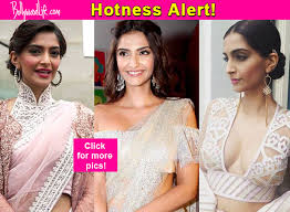 saree blouses 7 times sonam kapoor s unconventional saree blouses gave us major