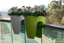 balcony decoration with potted plants home design and decor in