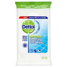 dettol anti bacterial cleansing floor wipes robert dyas