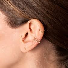 earrings that go up the ear 90 helix piercing ideas for your trendiest self
