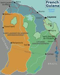 Guyana Map French Guiana U2013 Travel Guide At Wikivoyage