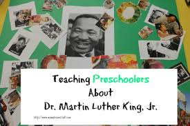 teaching preschoolers about dr martin luther king jr mama