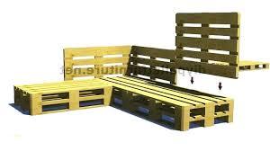 comment fabriquer un canapé en palette canape avec palette fabriquer canape jardin palette bois comment