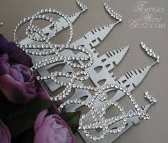 cinderella castle cake topper cinderella castle cake topper toppers with glitz