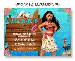 best disney moana birthday party ideas fit for a polynesian
