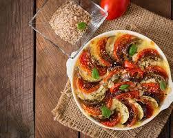 recette gratin aux aubergines et aux tomates au fromage facile rapide