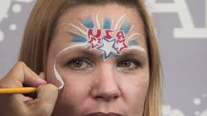4th of july fireworks face painting design youtube