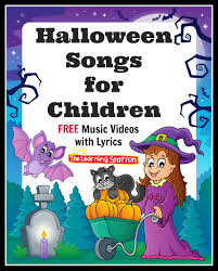 kids halloween images halloween songs for children the learning station blog