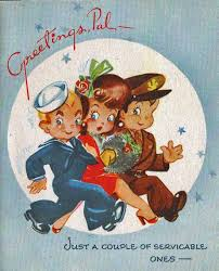 christmas cards in wartime blog wartime wednesdays elinor
