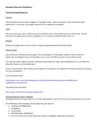 Choose The Best Latest Resume by Resume Guidelines 5 How To Choose The Best Format Sample Formats