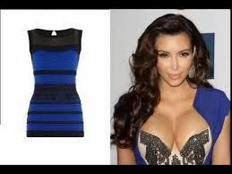 kim kardashian white and gold dress black and blue dress youtube