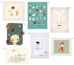 affiche chambre enfant d des affiches pour décorer une chambre d enfant