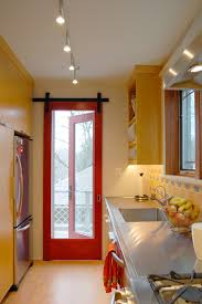 sliding kitchen doors interior barn doors interior kitchen contemporary with range stainless