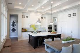 belmont white kitchen island white kitchen with black center island and black industrial stools