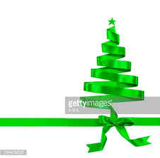 ribbon christmas tree ribbon christmas tree stock photo getty images