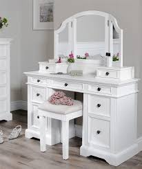 Makeup Table Bedroom Ideas Magnificent Dressing Table Vanity Bench White