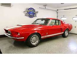 gt mustang 1967 1967 shelby gt500 for sale on classiccars com 8 available